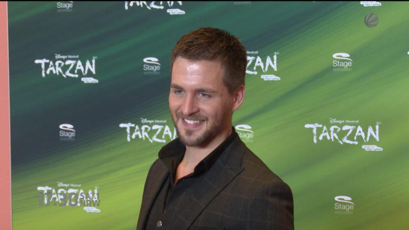 Darsteller für Tarzan-Musical vorgestellt (Foto: SAT.1 NRW)