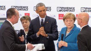 Obama begeistert Firma aus Ostwestfalen (Foto: SAT.1 NRW)