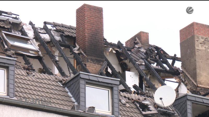 Drei Tote bei Brand in Duisburg (Foto: SAT.1 NRW)