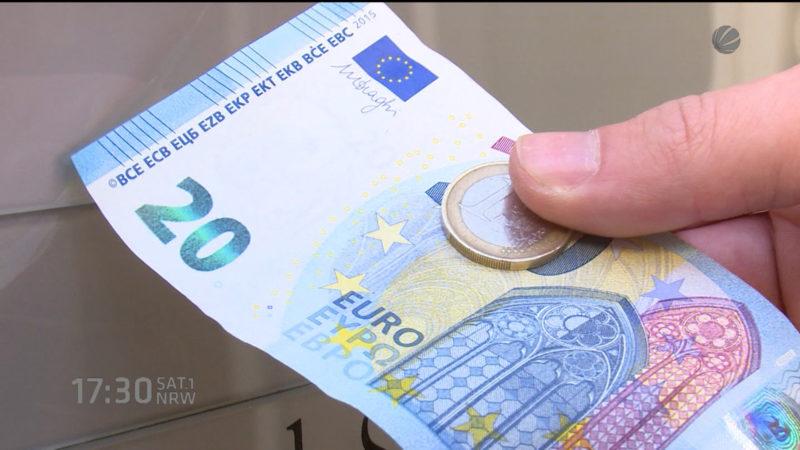Gebühr für Bargeldzahlung (Foto: SAT.1 NRW)