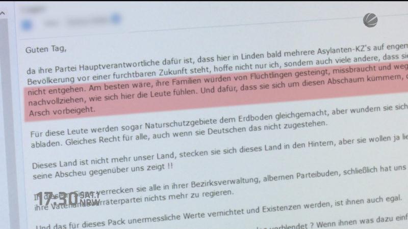 Anschlag auf SPD-Politiker (Foto: SAT.1 NRW)