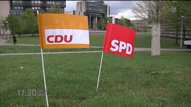 Große Koalition für NRW? (Foto: SAT.1 NRW)
