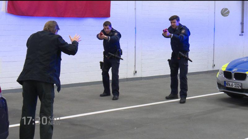 Neues Trainingszentrum der Polizei (Foto: SAT.1 NRW)