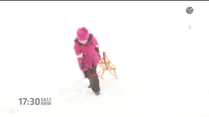 Der Winter an Pfingsten (Foto: SAT.1 NRW)