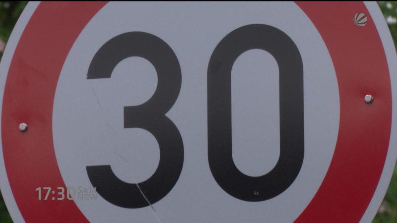 Tempo 30 auf Hauptstraßen (Foto: SAT.1 NRW)