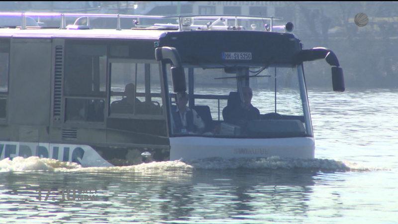 Köln bekommt Wasserbusse (Foto: SAT.1 NRW)