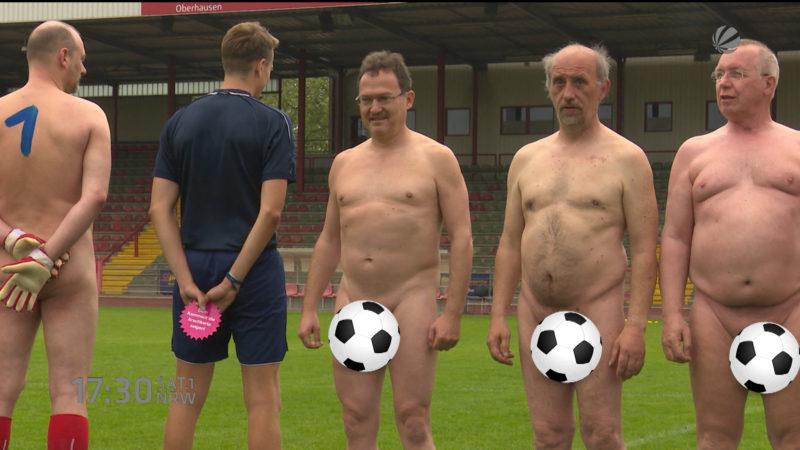 Nacked Fußball (Foto: SAT.1 NRW)