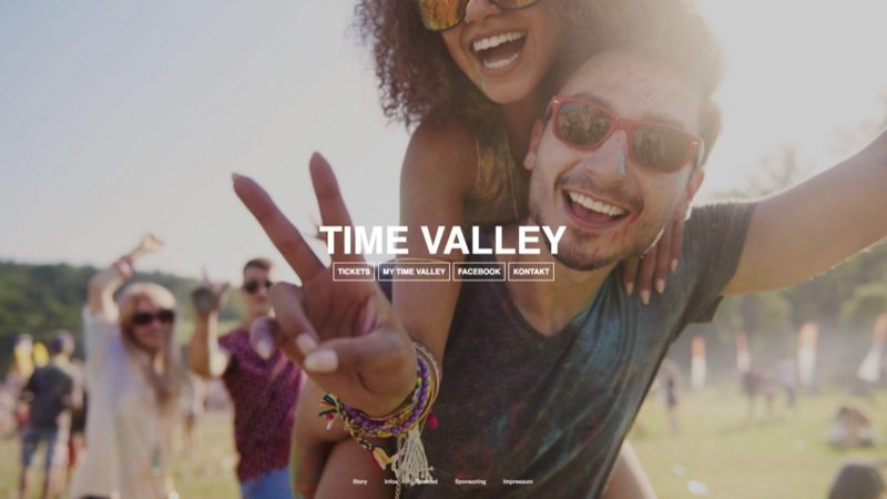 Abzocke mit Fake-Festivals? (Foto: Homepage Time Valley Festival)