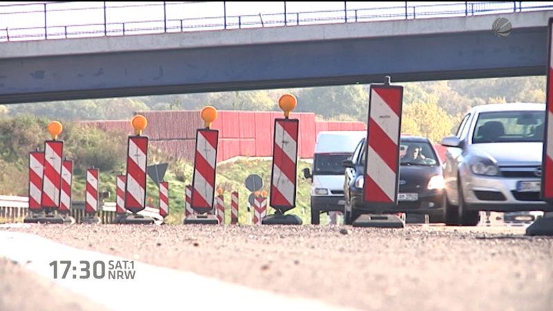 Noch mehr Baustellen (Foto: SAT.1 NRW)
