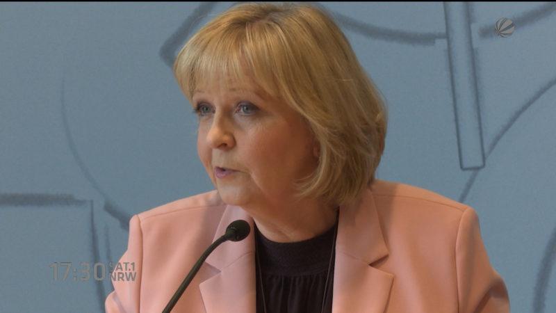 Forderung: Ministerpräsidentin soll Telefondaten preisgeben (Foto: SAT.1 NRW)