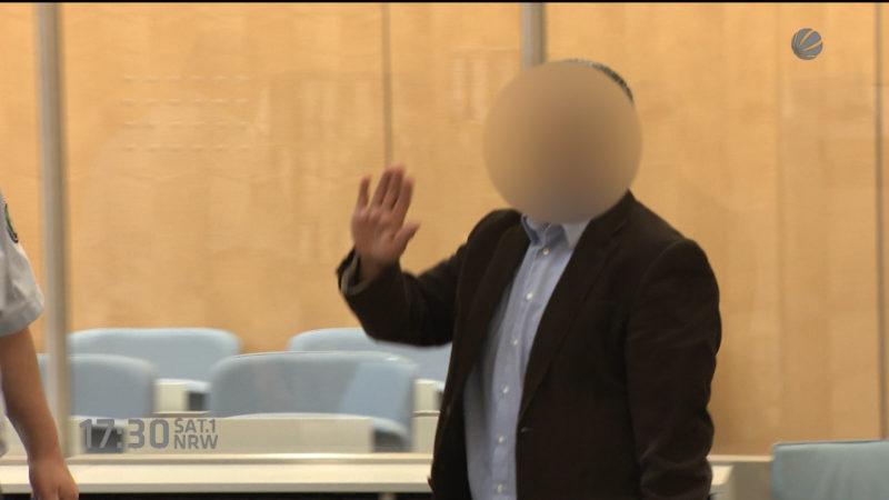 Anklage gegen mutmaßlichen Terror-Helfer (Foto: SAT.1 NRW)