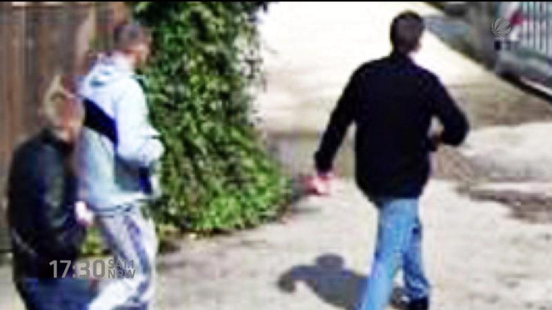Polizei sucht Räuber (Foto: SAT.1 NRW)