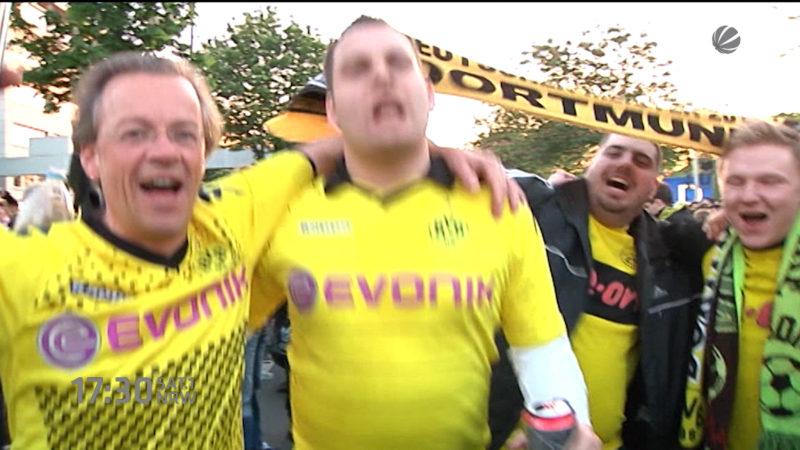 Dortmund plant Pokalfeier (Foto: SAT.1 NRW)