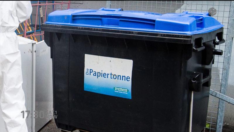 Obduktionsergebnis Containerleiche (Foto: SAT.1 NRW)