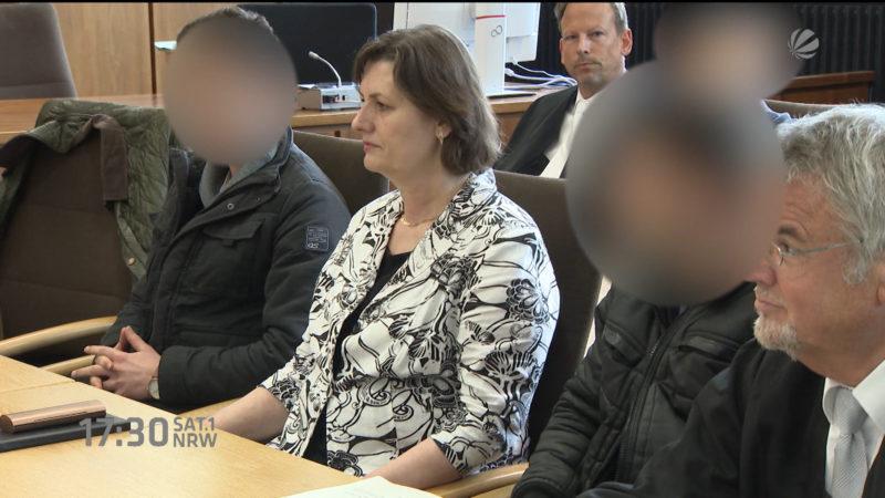 Einbrecherbande vor Gericht (Foto: SAT.1 NRW)