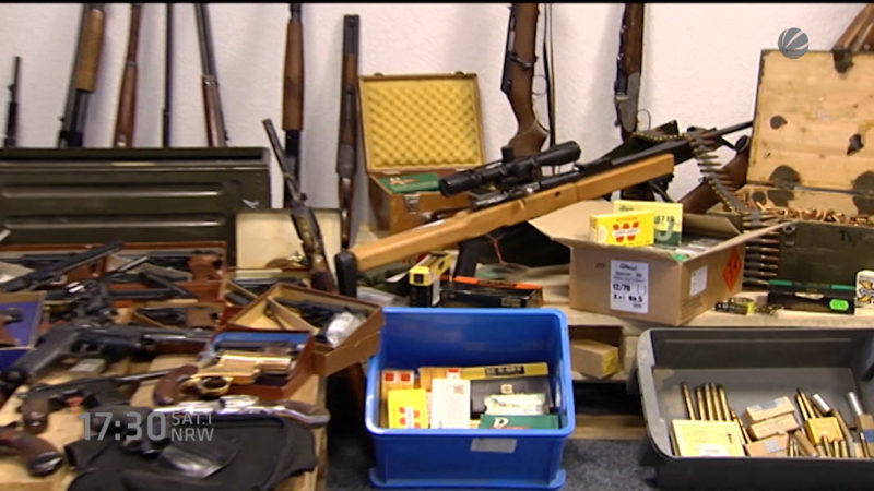 Anklage gegen einen Schwerter Ex-Waffenhändler (Foto: SAT.1 NRW)