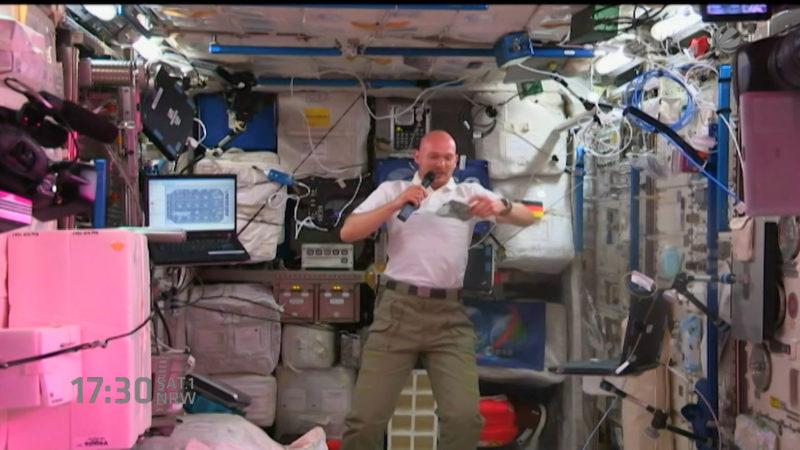 Alexander Gerst wird ISS Kommandant (Foto: SAT.1 NRW)