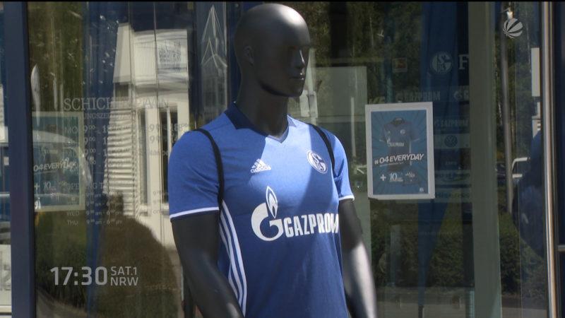 Neues Schalke Trikot erhältlich (Foto: SAT.1 NRW)