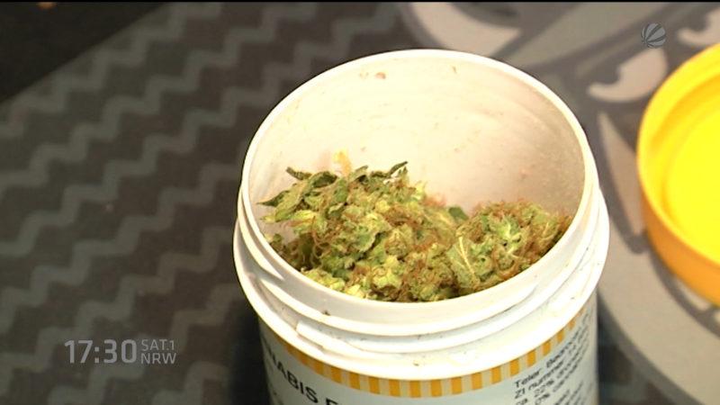 Cannabis für Schmerzpatienten (Foto: SAT.1 NRW)