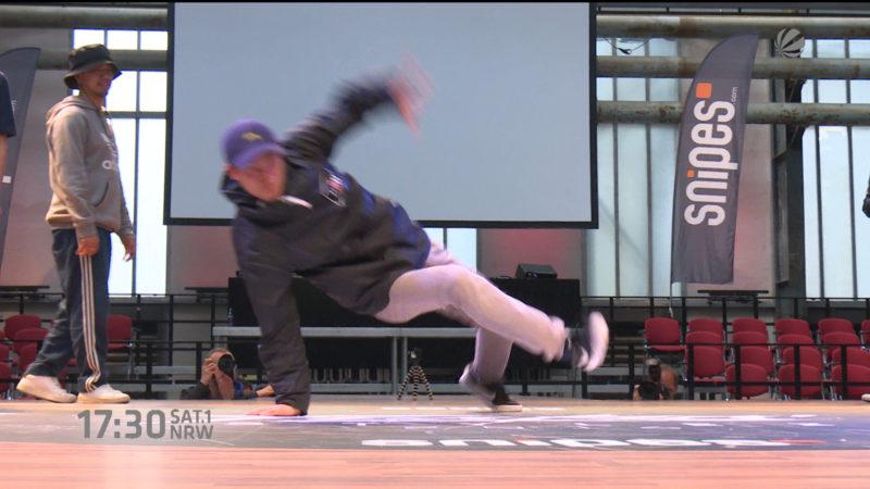 Urbaner Tanzwettbewerb in Bochum (Foto: SAT.1 NRW)