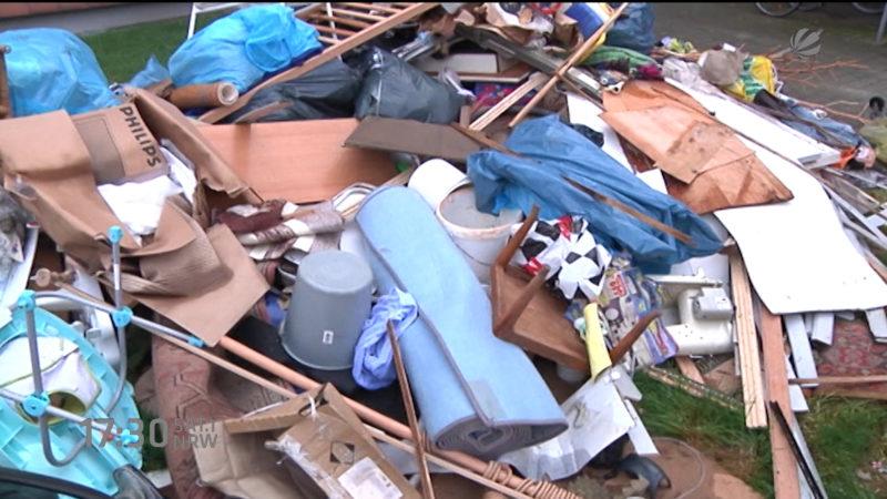 NRW produziert mehr Müll (Foto: SAT.1 NRW)