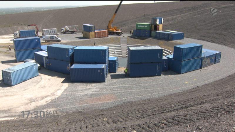 Container für Halden-Holländer (Foto: SAT.1 NRW)
