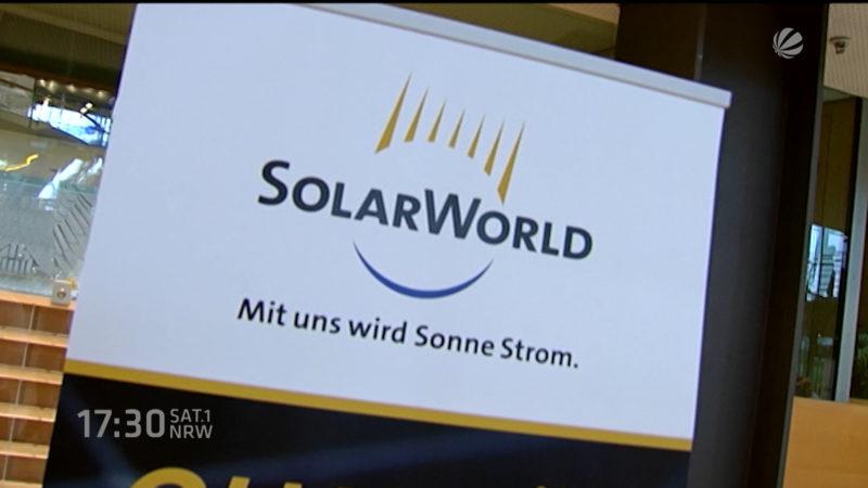 Solarworld Bilanz (Wirtschaft) (Foto: SAT.1 NRW)