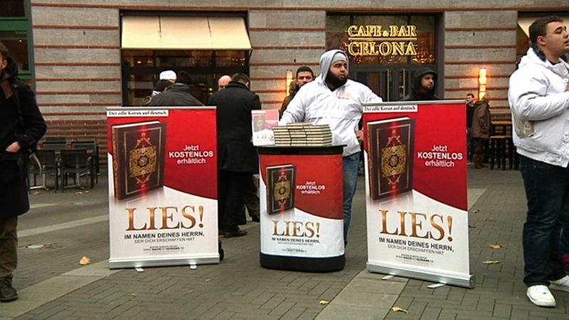 Koranverteilungen bald verboten? (Foto: SAT.1 NRW)