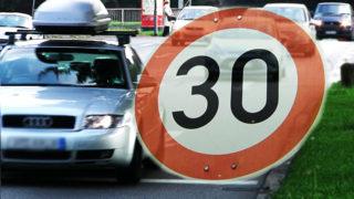 Bald nur noch Tempo 30 Zonen? (Foto: SAT.1 NRW)