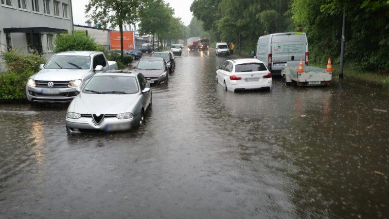 Unwetterwarnung für NRW (Foto: Facebook)
