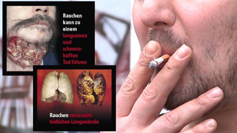 Zigaretten-Schockbilder kommen (Foto: SAT.1 NRW)