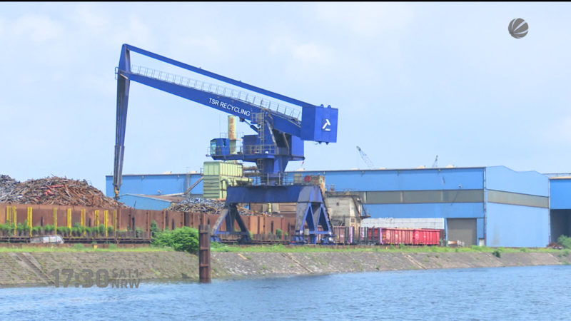 Duisburger Hafen hat Geburtstag (Foto: SAT.1 NRW)