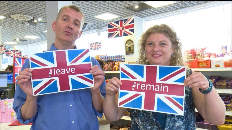 NRWs Briten sind gegen Brexit (Foto: SAT.1 NRW)
