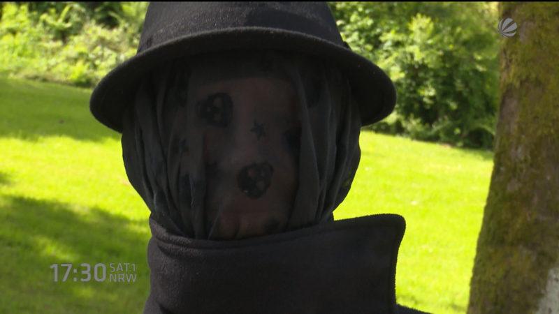 Mysteriöse Frau in Remscheid (Foto: SAT.1 NRW)