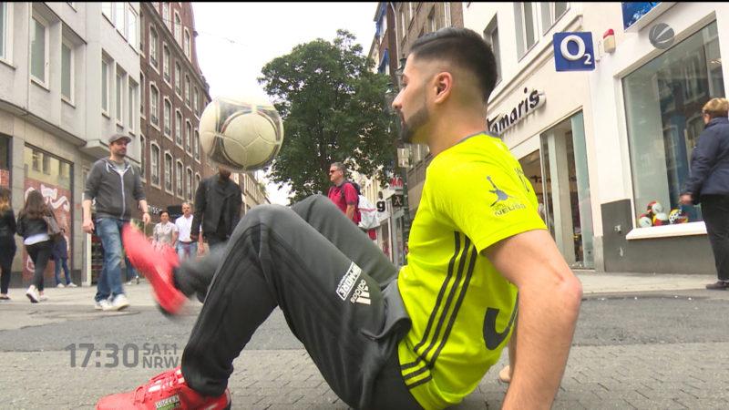 Weltmeister in Fußballtricks (Foto: SAT.1 NRW)