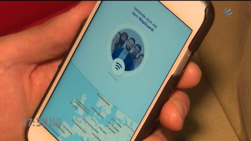 App für mehr Sicherheit (Foto: SAT.1 NRW)