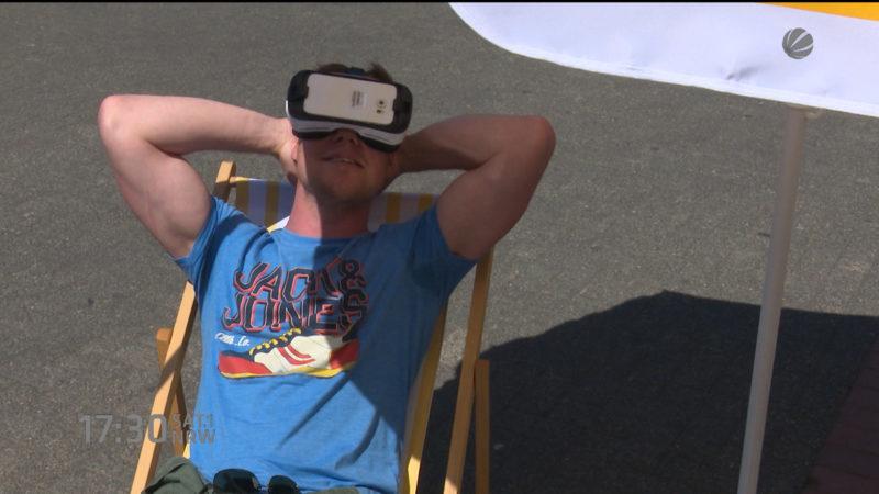 Virtuelle Realität (Foto: SAT.1 NRW)