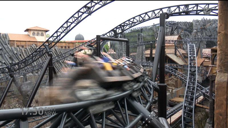 Mit Highspeed über die Gleisen (Foto: SAT.1 NRW)