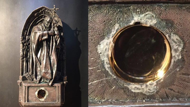 Papst-Reliquie aus Dom geklaut (Foto: Polizei Köln)