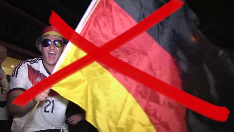 Grüne wollen keine Flaggen zur EM (Foto: SAT.1 NRW)