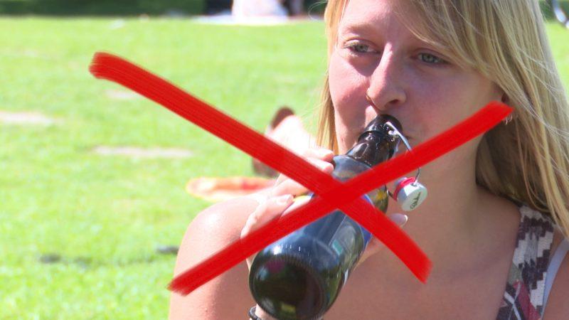 Alkoholverbot in Herne geplant (Foto: SAT.1 NRW)