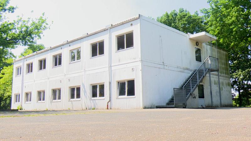 Container statt Klassenzimmer (Foto: SAT.1 NRW)