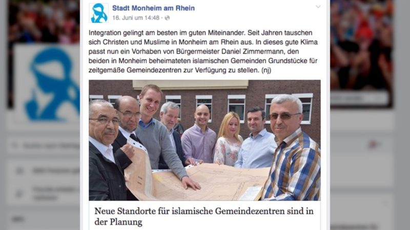 Schenkung an Muslime wird zu Shitstorm (Foto: Facebook)