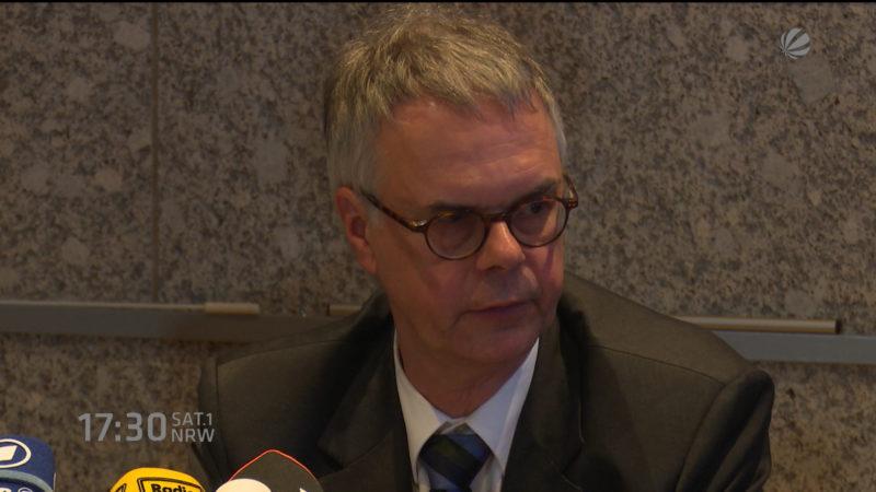 Wolfgang Albers entschuldigt sich bei Silvester-Opfern (Foto: SAT.1 NRW)