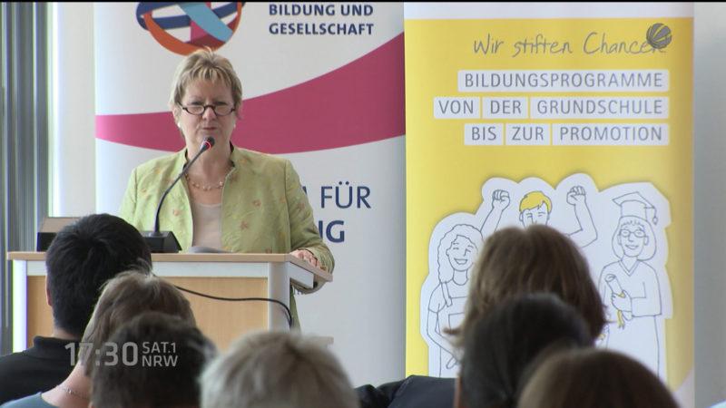 Praxisforum Schule für Flüchtlinge (Foto: SAT.1 NRW)