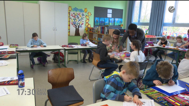 Vorwurf: Grundschulen werden vernachlässigt (Foto: SAT.1 NRW)
