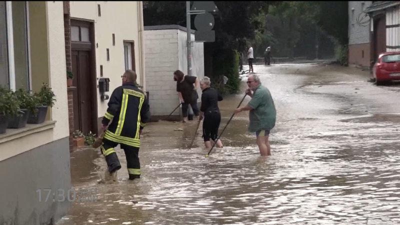 Klimawandel ist da (Foto: SAT.1 NRW)
