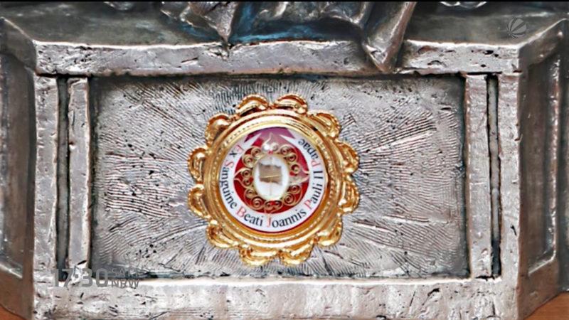 Belohnung für Hinweise auf Papst-Relique (Foto: SAT.1 NRW)