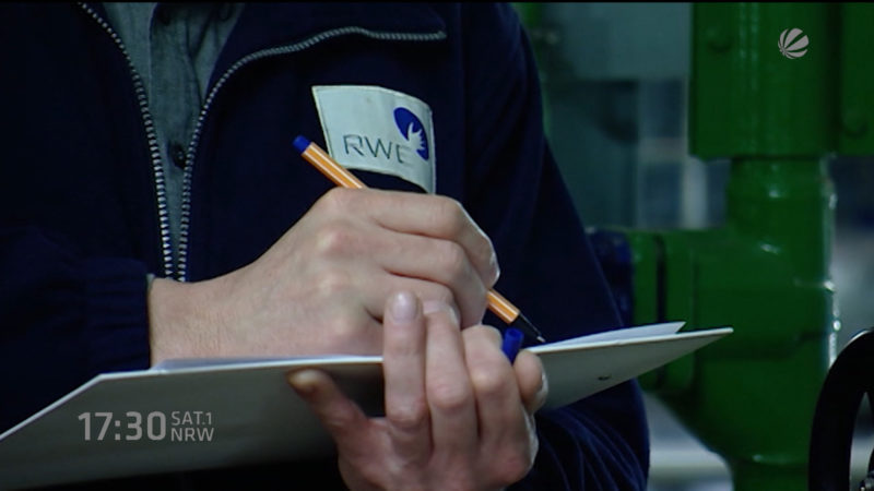 RWE-Tarifverhandlungen vertagt (Foto: SAT.1 NRW)