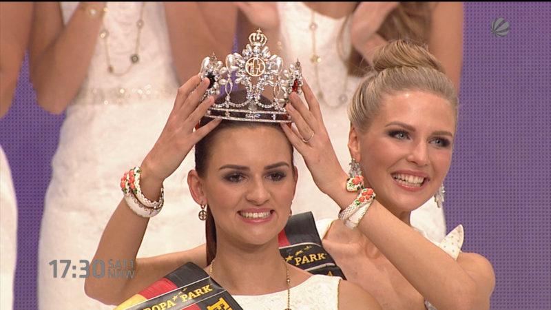 Miss Germany darf zum Papst (Foto: SAT.1 NRW)